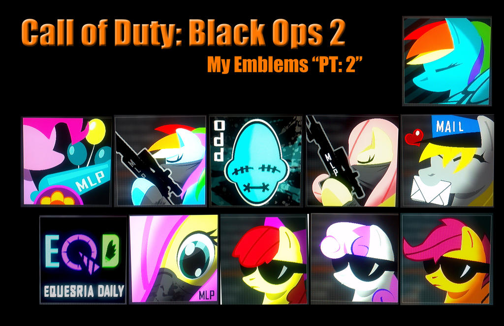 cool black ops emblems and how to make them
