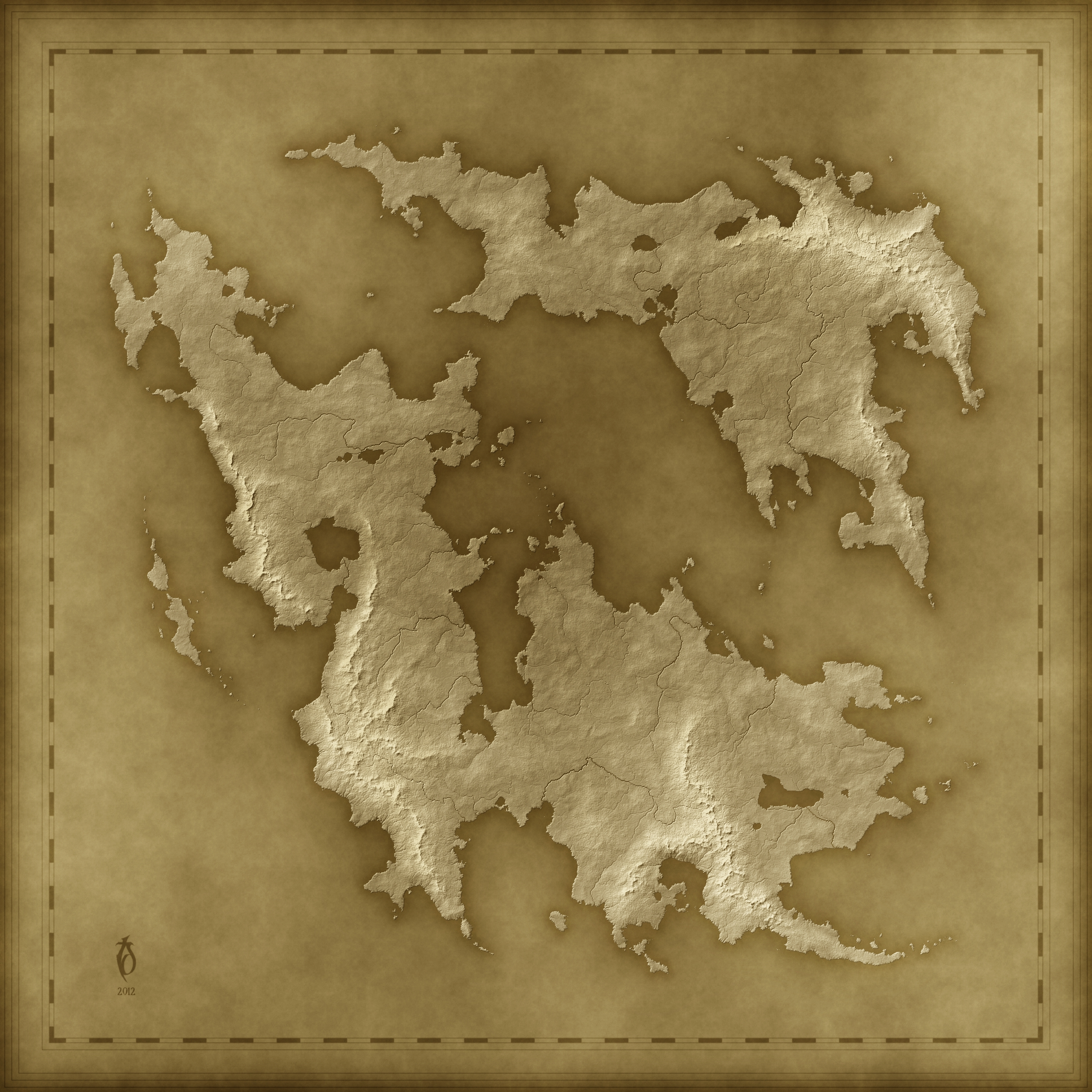 A free old fantasy map by arsheesh on deviantart a free old fantasy map by arsheesh gumiabroncs Image collections