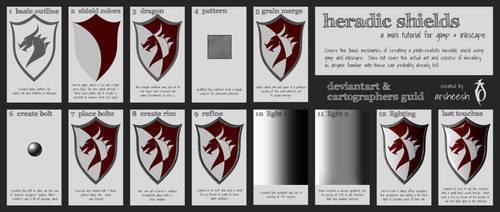 Heraldic Shield Mini Tut by arsheesh