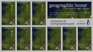 Geographic Icons Mini-Tutorial