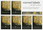Curved Labels