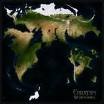 Brandish World Map Small