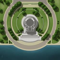 Jefferson Memorial Battlemap Commission