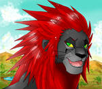 +lion Axel+ by Jack666rulez