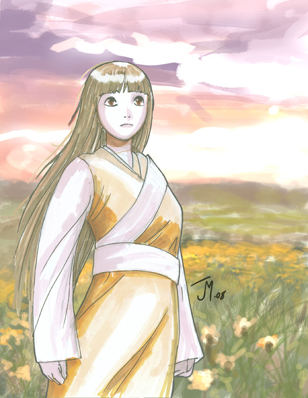 Anime sketch by artistjoshmills