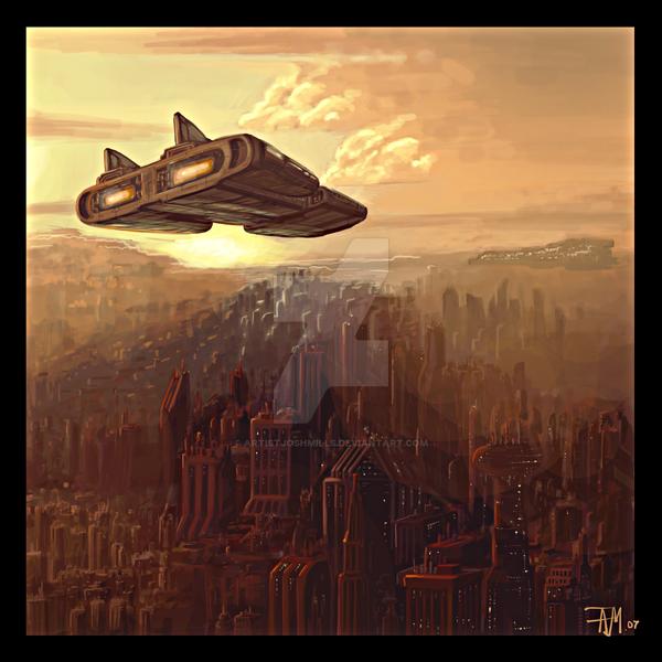 Future City by artistjoshmills