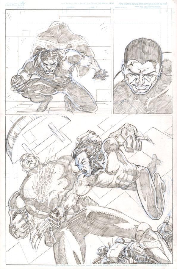Ultimate X-Men by artistjoshmills