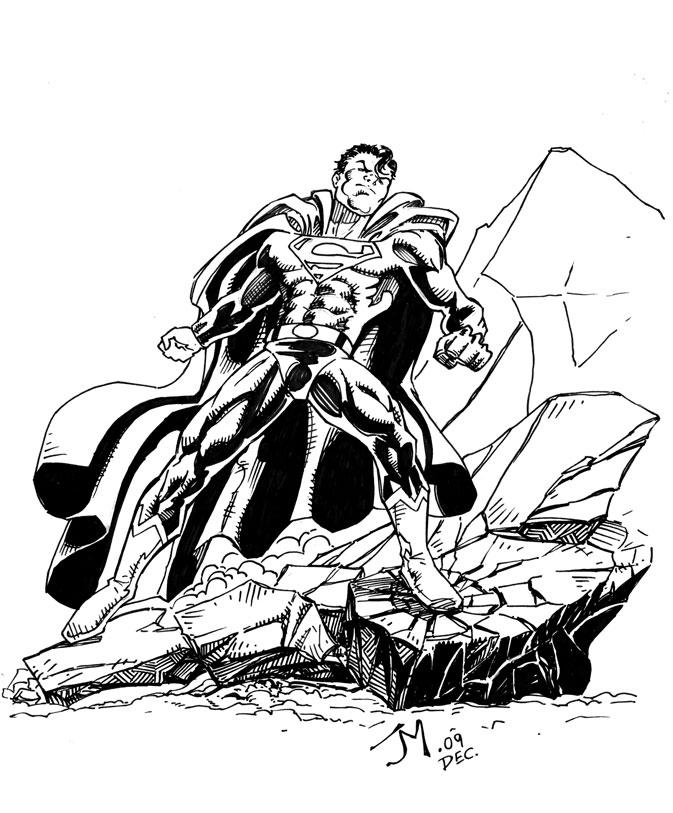 Superman part 2 by artistjoshmills