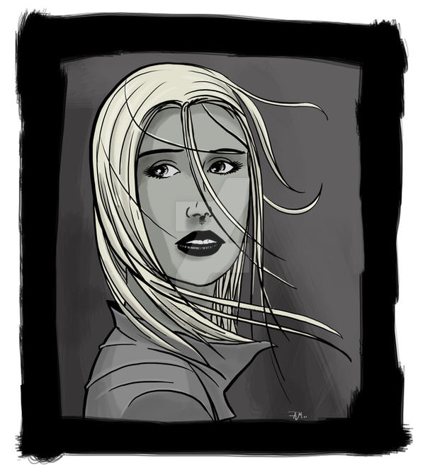 Mystery girl by artistjoshmills