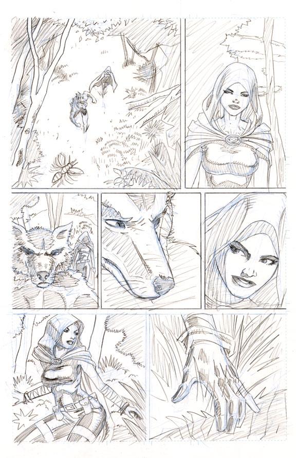 Redwolf page 3 by artistjoshmills