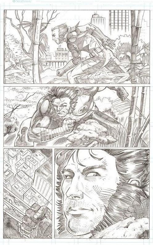 Wolverine Page by artistjoshmills