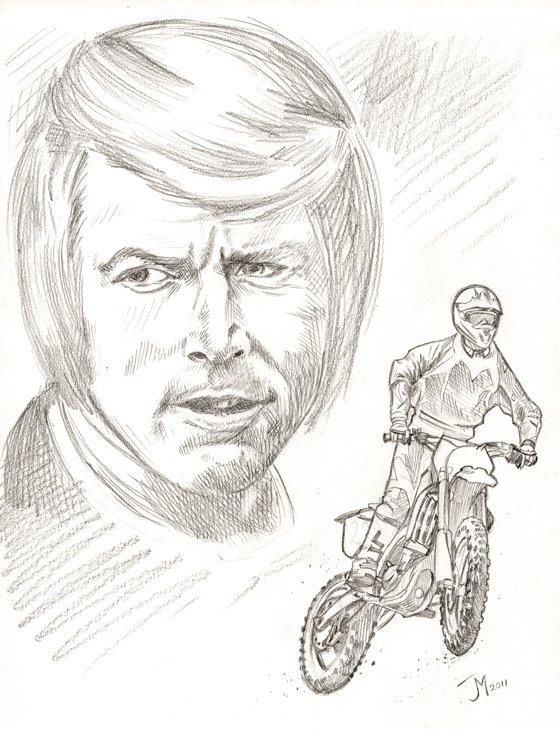 Pencil sketch by artistjoshmills
