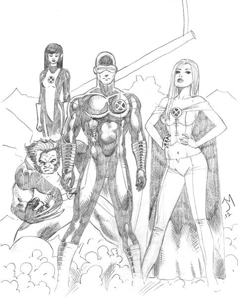 X-Men by artistjoshmills