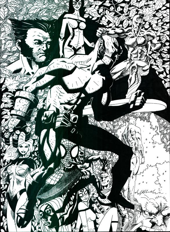Random Comic Art by artistjoshmills