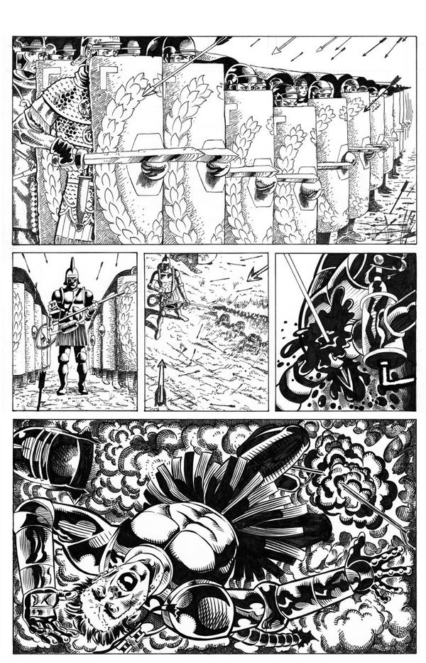 Page 1 of Roman Steampunk story by artistjoshmills