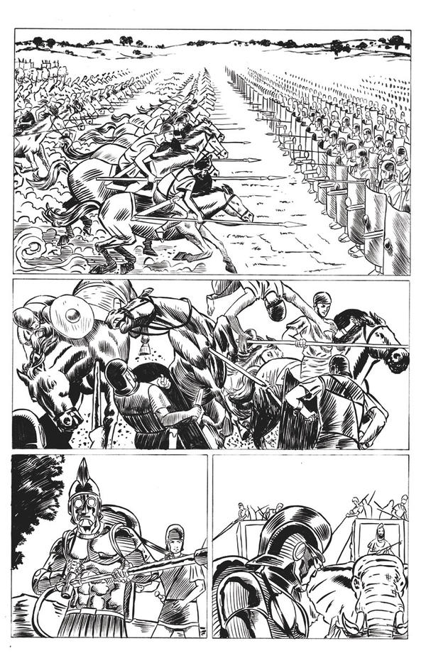 Steamroma: Croton page 6 by artistjoshmills