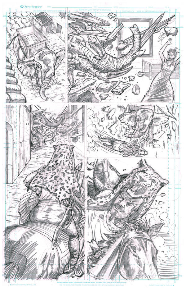 Steamroma: Croton Page 14 by artistjoshmills