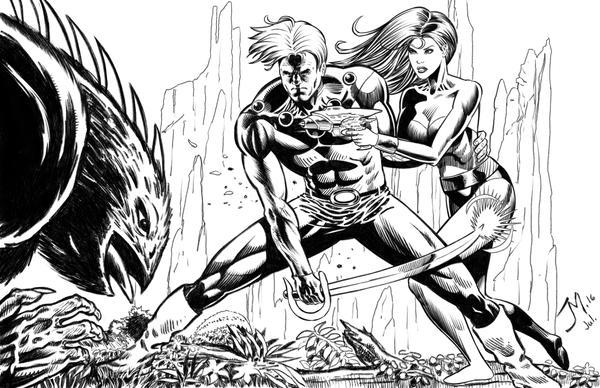 Flash Gordon by artistjoshmills