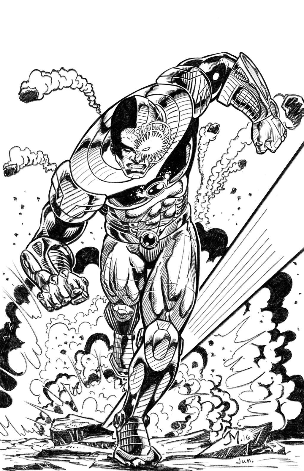 Cyborg by artistjoshmills