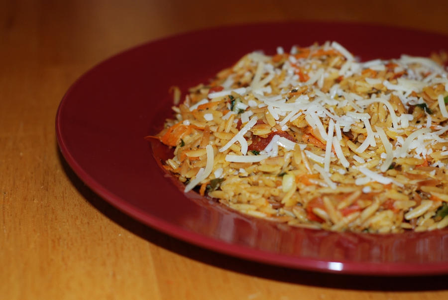 Vegetarian Lime Orzo by MaddMedia on DeviantArt
