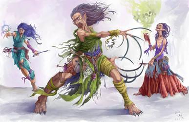 Witch Hags by MilonasDionisis