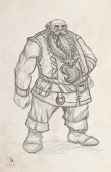 Dwarf of Eren by MilonasDionisis