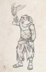 Orc of Eren by MilonasDionisis