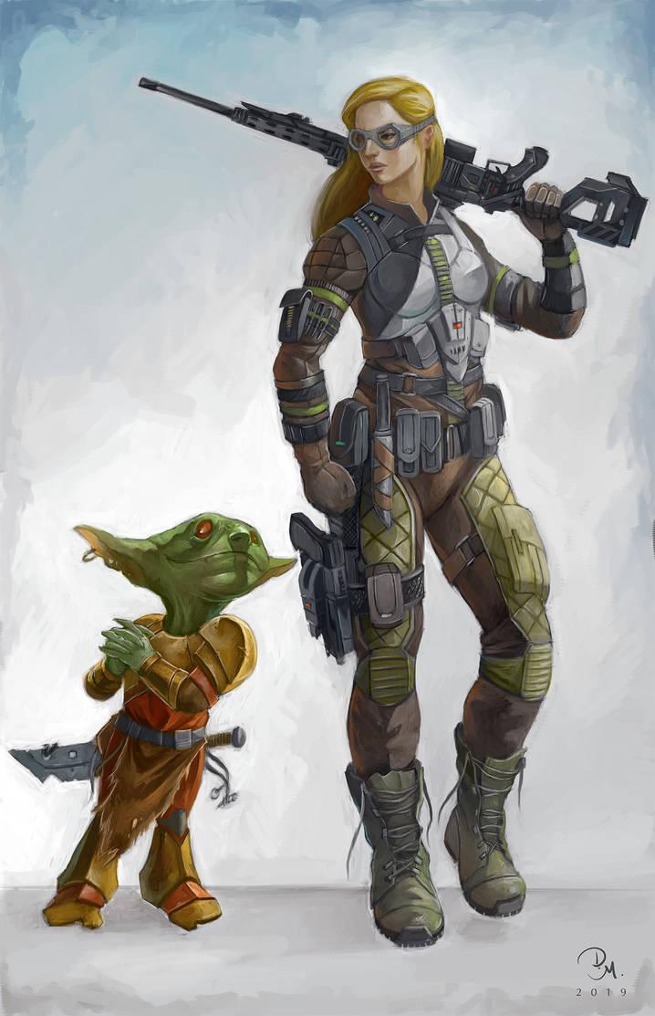 Operative and goblin by MilonasDionisis