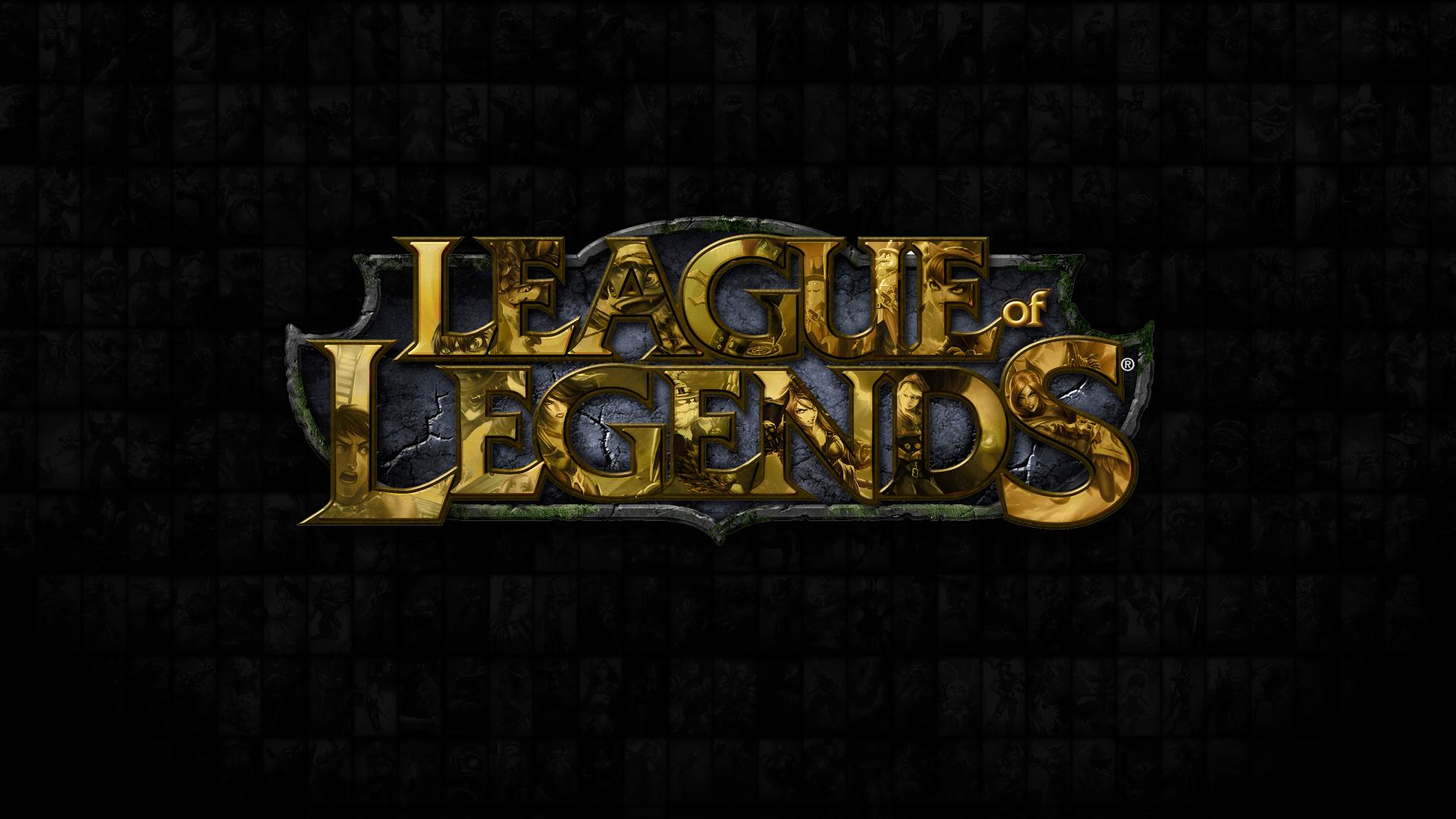 League of Legends Logo Wallpaper by CreateMyIntro on ...