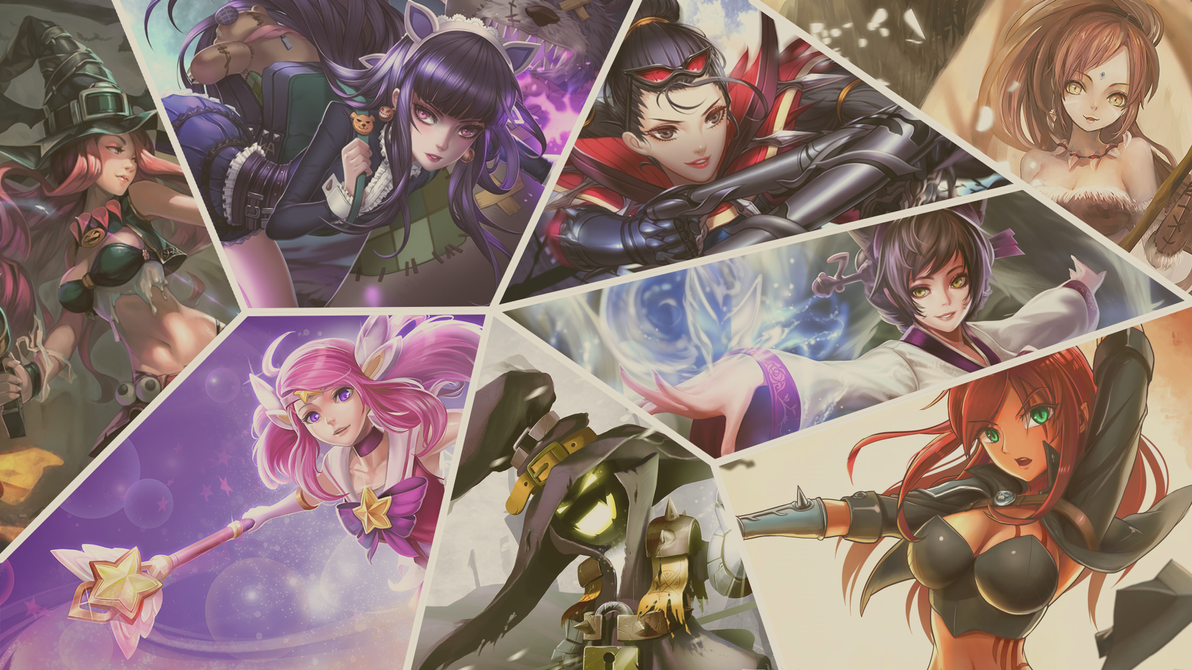 League of Legends - Comic Book Wallpaper by CreateMyIntro