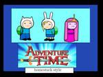 adventure time homestuck style