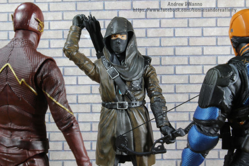 Arrow Dark Archer Costume
