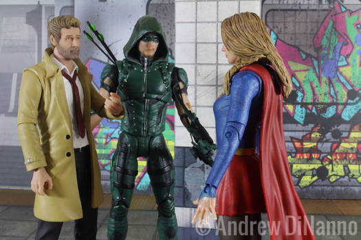 John Constantine Meets Supergirl