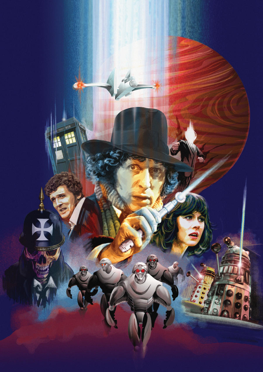 Dr Who and the Scratchman by BrianAW