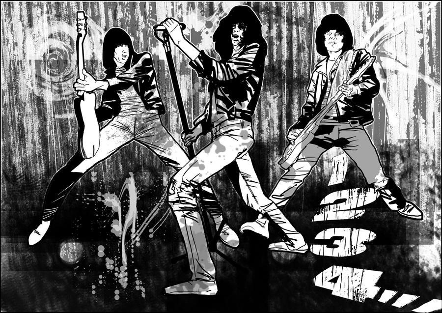 Ramones Test by BrianAW