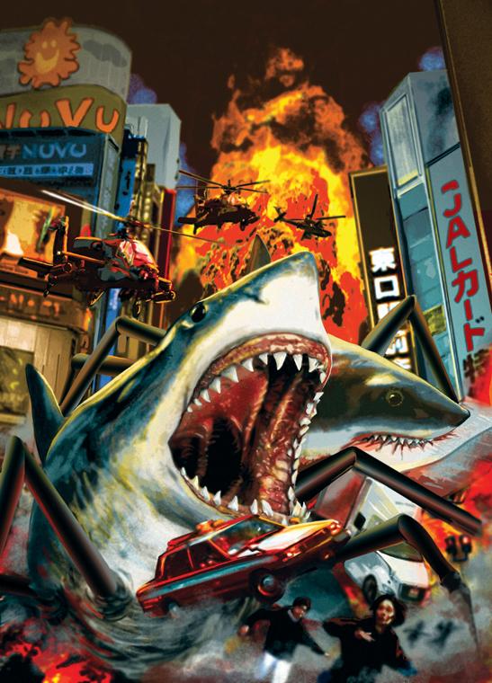 GYO: TOKYO FISH ATTACK! by BrianAW