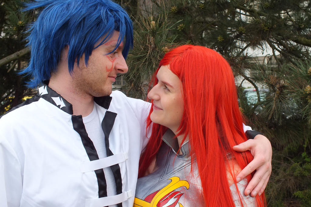 Erza Scarlet and Jellal Cosplay by Jacindazs on DeviantArt