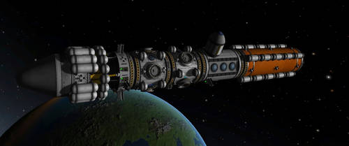 Voyager (WIP) by kraftkirby