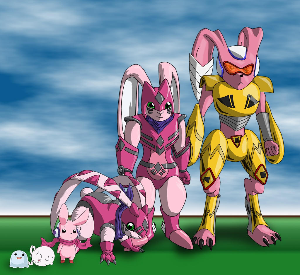 evolution line for cutemon by miraclefox on deviantart
