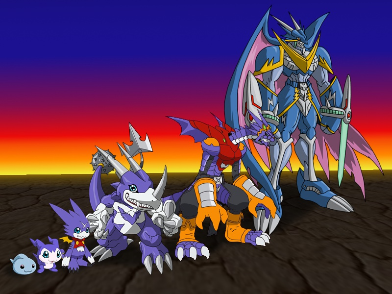 Gumdramon evolution by Miracle-FoxGumdramon