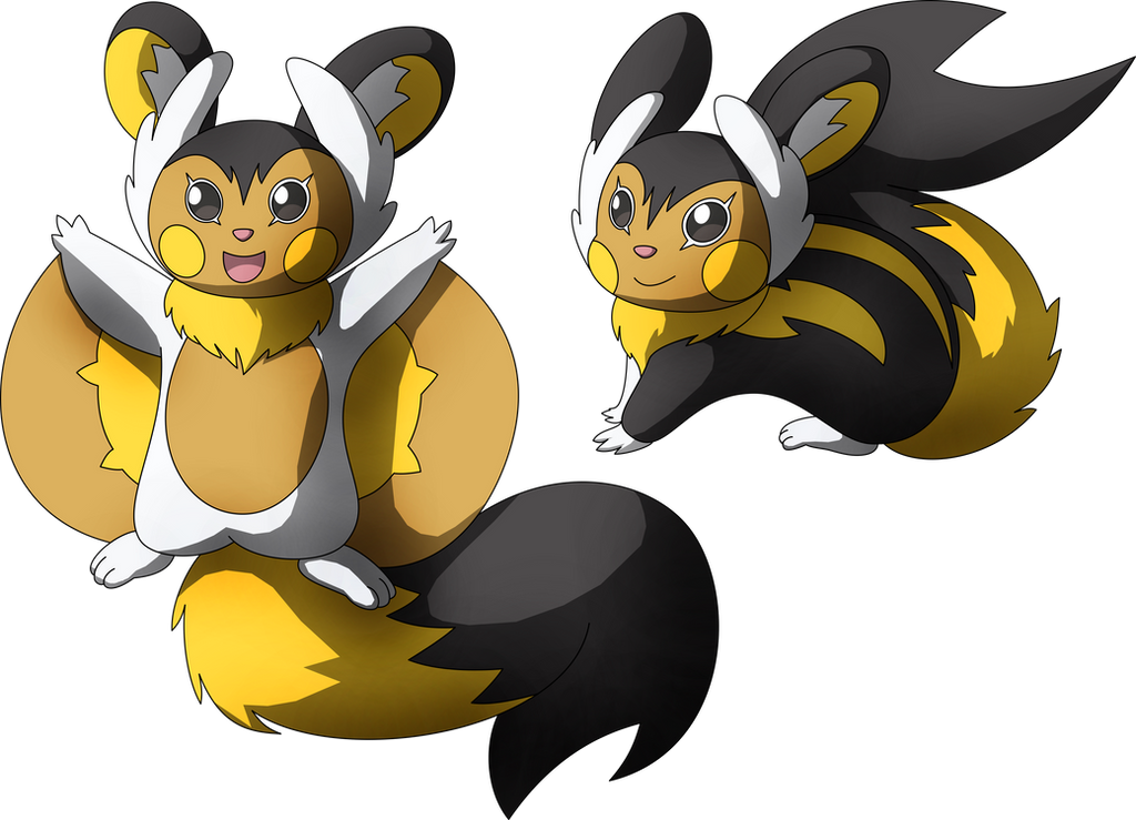 Musasaray Evolution Of Emolga By Miracle Fox On Deviantart