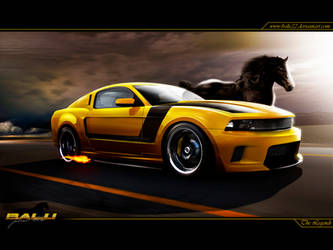 Ford Mustang - The Legends by Balu32