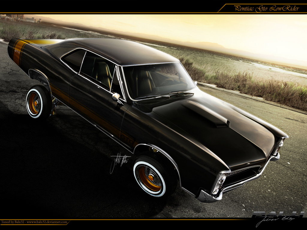 Pontiac Gto Lowrider By Balu32 On Deviantart