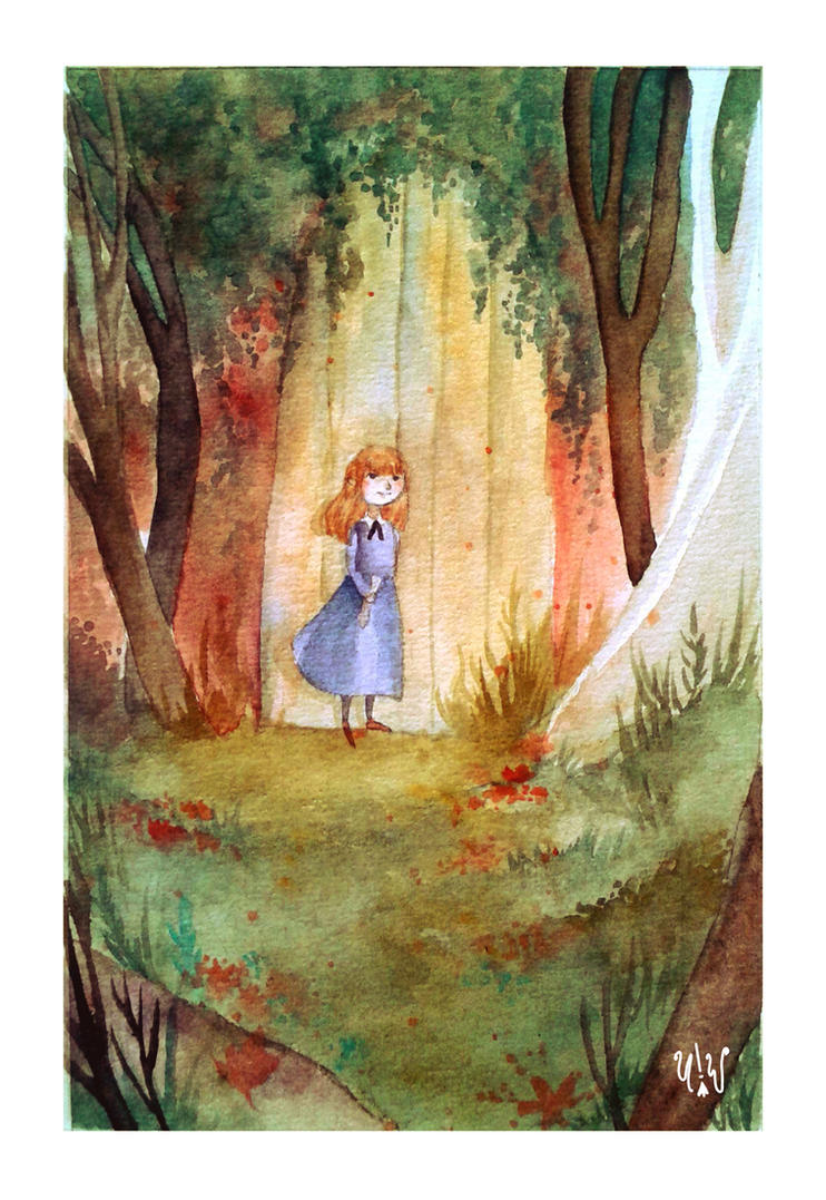 The Secret Garden by ultramarinewitch