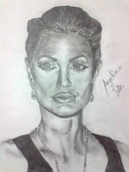 Angelina jolie by 16sweety