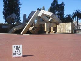 Take An Art Break by discoinferno84