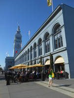 San Francisco Ferry Building In Late Afternoon by discoinferno84