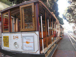 Cable Car At Powell Street Again by discoinferno84
