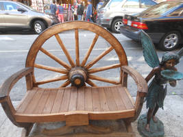 Chinatown Bench by discoinferno84