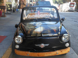 Mona Lisa Ristorante Car by discoinferno84